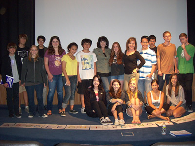 """A to Z :the Filmmakers Perspective"" class at the California Film Institute"